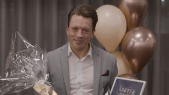 Joakim Andersson, Vasastan Stockholm, är Årets Mäklare 2020