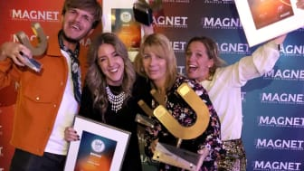 Clarion Hotels Employer Brand & Marketing-team fick ta emot 4 priser