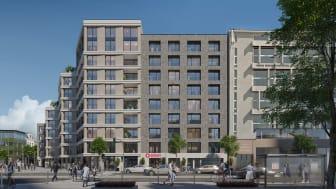 Aparthotel Adagio Antwerpen in Zurenborg, einem der schönsten Viertel der Stadt ©Candor