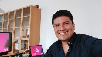 An der HdWM angekommen: Jorge Rojas Dominguez hat sich trotz Corona an der HdWM eingelebt