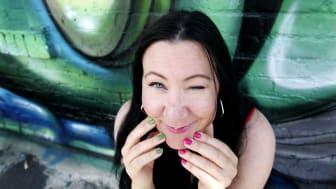Hanna Jedvik, foto Linn Malmén (höjdare)