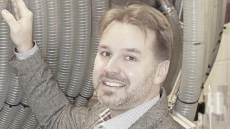 Daniel Ehrnberg är bolagets grundare, VD och kommersiella chef