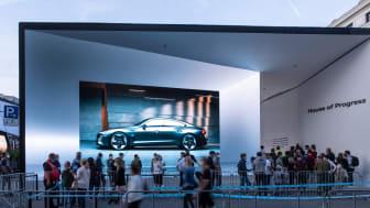 Audi House of Progress i München ifm IAA 2021