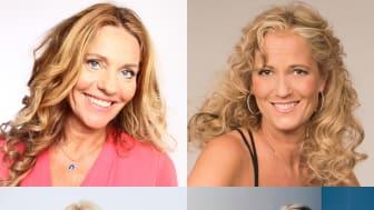 Paula Ternström, Maria Wells, Malin Watson och Lina Forss leder den nya digitala satsningen Kulturvecka hemma
