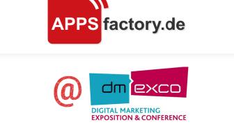 Robot Journalism, AR- und VR-Anwendungen sowie Alexa Skills: APPSfactory präsentiert neue News-, eCommerce- und Industrie 4.0-Apps auf der dmexco 2017