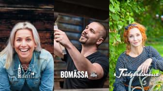 Tina Nordström, Björn Christiernsson och Linda Schilén är några av helgens profiler på Elmia.
