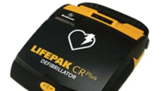 Kvinnas liv räddades av Falck Hjärtstartare