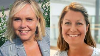 Ingela Furenbäck och Anna Åhlander från Personal- arbetslivsprogrammet tror på en väldigt givande dag för såväl externa aktörer som för studenter och lärare.