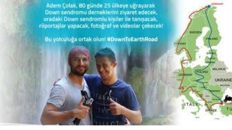 Besök av Adem Colak på Svenska Downföreningens kansli