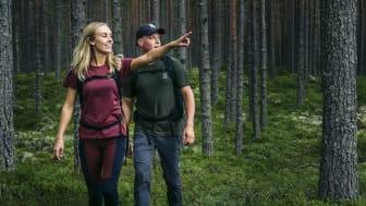 Satsningen Turism på annans mark ska fungera vägledande för turistföretag och markägare i Sverige. Foto: Erik Kilström/Visit Dalarna.