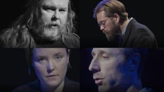 Tre poeter och en pianist nu på Fjärde Scenen och digitalt via Julstaden Göteborg