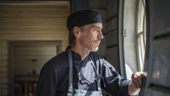 Gunnebos restaurangchef Patrik Sewerin. Foto: Kajsa Sjölander