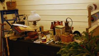 Solkullen har en egen lanthandel - ett minimuseum - som väcker minnen och leder till samtal. Bild: Anie Reis