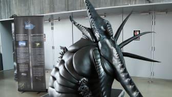 Just denna skulptur är döpt efter Alex Webster i Canibal Corpse, och kommer att kunna beskådas på Sweden Rock Festival i juni.