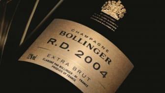 Nu lanserar Winefinder och Bollinger R.D 2004 på Operakällaren den 29 maj.