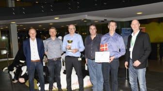 Arla Foods vandt titlen som dansk mester i Vehco Eco-driving konkurrencen.