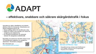 De senaste åren har stora delar av Stockholms skärgård sjömätts för första gången sedan slutet på 1800-talet. Mätningarna har avslöjat en mängd tidigare okända grunda områden och inneburit flera nya rutter för skärgårdstrafiken. Bild: Sjöfartsverket
