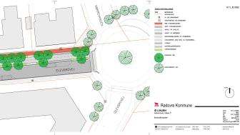 Illustrationsplan af den næste etape af ID-linjen