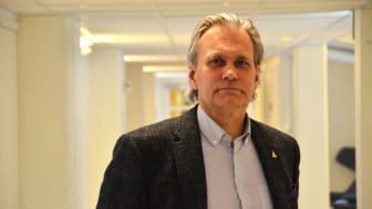 Michael Nilsson, projektledare vid Centrum för distansöverbryggande teknik på Luleå tekniska universitet.