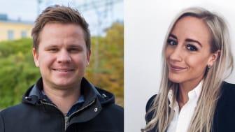 Henrik Olsson och Sofia Andersson har skrivit examensarbete om hur mätningar används av HR-chefer. Nu kommer en fin belöning.
