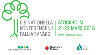 Den 5:e Nationella konferensen i palliativ vård arrangeras av Nationella Rådet för Palliativ vård, Stockholms Sjukhem och Ersta Sköndal Bräcke Högskola