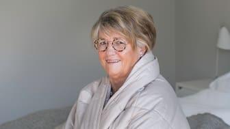 Gerd Reinholdsson, 74 år från Sundsvall, har haft sömnproblem så länge hon kan minnas.