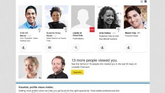 """""""Mitglieder, die Ihr Profil angesehen haben"""" unterstützt bei Profil-Analyse"""