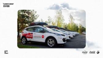 Coca-Cola European Partners ansluter sig till Climate Groups EV100-initiativ och åtar sig att gå över till eldrivna tjänstefordon senast 2030