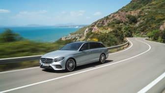 Nu lanseras Mercedes-Benz E-Klass i en version godkänd för det fossilfria bränslet HVO100.