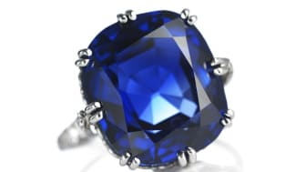 The beautiful sapphire ring was not the only knockdown that surprised at the auction.