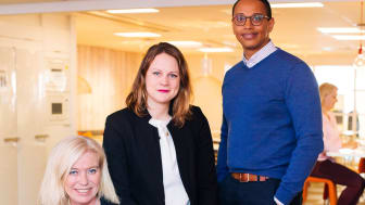 Carina Björkefors, Lisa Andersson and Ted Solomon