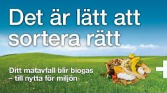 Informationssatsning för bättre sortering av matavfallet i Båstad kommun
