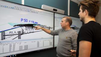 PEAB gjennomfører heldigital E6-utbygging med ny maskinstyringsløsning