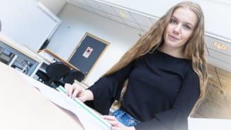 Gymnasieingenjören Moa Arvidsson har genom sin praktik fått arbete på Peab