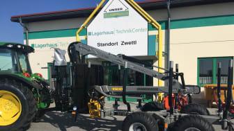 Lagerhaus Technik Center vertreibt jetzt Trejon Multiforest Forstanhänger