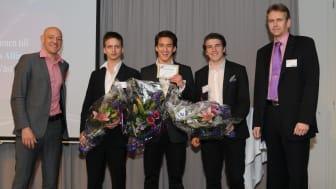 Vinnare Årets unga entreprenör Väst 2010, MobilMobil, i Founders Awards