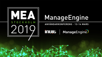 ManageEngine Användarkonferens 2019