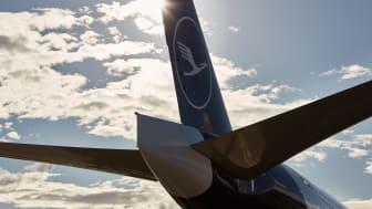 Boeing 777F der Lufthansa Cargo auf dem Flughafen Frankfurt