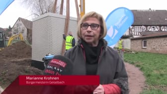 Glasfaserausbau in Geiselbach (Bayern) - Main.TV vom 13.02.2019