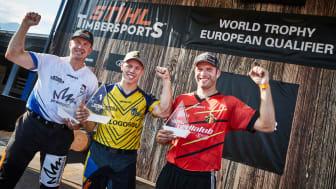 Ferry Svan klar för World Trophy 2022 – tog hem segern mot Europas toppatleter