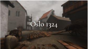 Gå inn på www.oslo1324.no for å oppleve Oslo i middelalderen Foto: Tidvis utvikling as