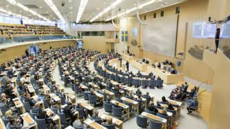 Swedish parliament.  Photo: Melker Dahlstrand