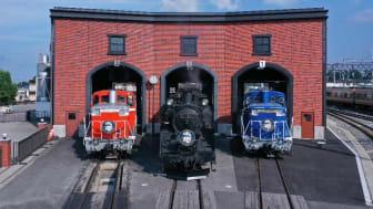 3 SL Taiju Steam Locomotives