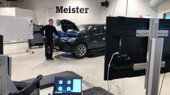 För att säkerställa elever och handledares hälsa testar ProMeister Fordon videomöten som verktyg för praktik på distans.