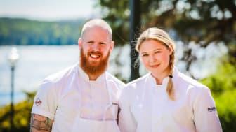 Magnus Wallin & Johanna Rampitsch på Högberga Gård har tagit varsin prestigefylld plats i Stockholm Culinary Team.