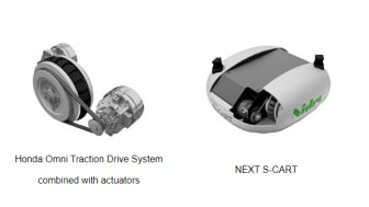 Honda and Nidec-Shimpo Collaborate to Mass-Produce Omni-directional Driving Wheel System