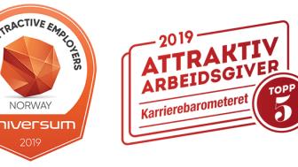 AA karriere-Norway Badges Top 100-116