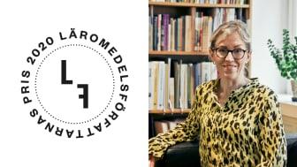 Till höger: Frida Engman, förbundsdirektör, Läromedelsförfattarna.