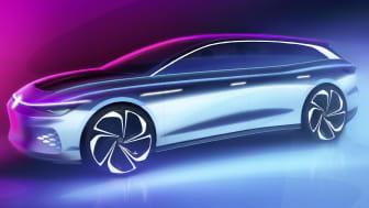 ID. SPACE VIZZION er det 7. medlem i Volkswagens nye familie af banebrydende ID.-elbiler