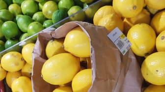 Matavfallspåsar som frukt- och grönsakspåse blev succé